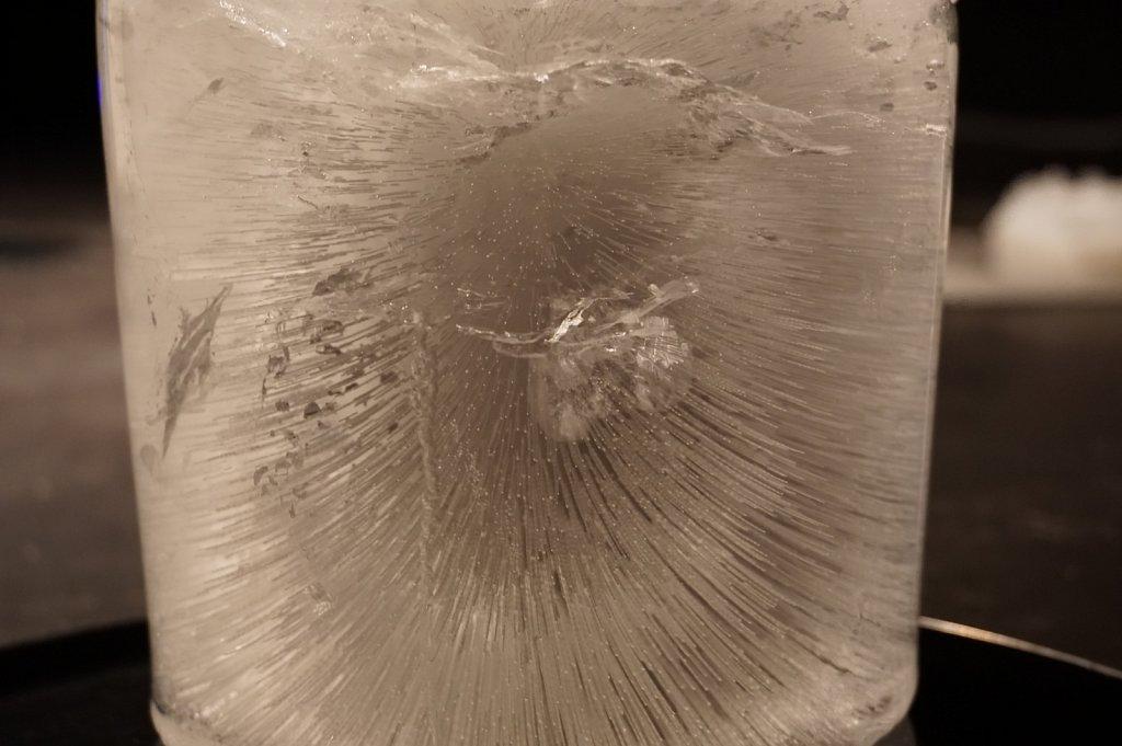 liquid ice formations